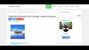 flight pilot simulator 3d 1 3 6 apk mod for android youtube