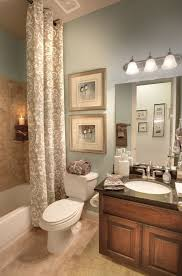redone bathroom ideas i like the shower curtain that goes from ceiling to floor ii