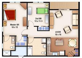bedroom plan with dimensions simple floor master bathroom and walk