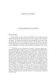 Challenge Ekå I H Scharfe A New Perspective On Panini Semiotics Cognitive Science