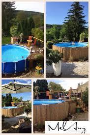 amenagement autour piscine hors sol 25 beste ideeën over piscine hors sol bois op pinterest