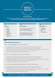 Best Resume Set Up by Best Sample Resume Intelligent Resume Mycvfactory