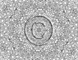 sweet looking very detailed coloring pages free printable abstract