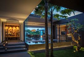 modern resort villa with balinese theme idesignarch interior with