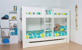 Flexa Heidi White Bunk Bed - White bunk beds uk