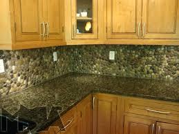 rock kitchen backsplash pebble backsplash 4 and pebble kitchen to pebble rock