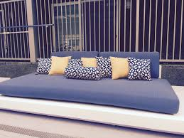 Patio Cushions Outdoor Patio Cushions Blue Home And Garden Decor Best Outdoor