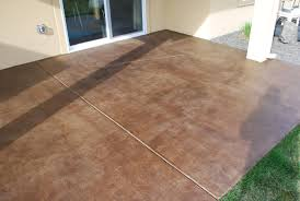 patio concrete stain colors patios home design ideas gallery for