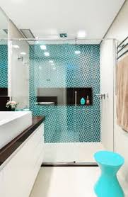 beautiful and serene turquoise in the bathroom springrefresh