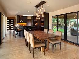 Glass Chandeliers For Dining Room Impressive Glass Chandelier For Mid Century Dining Room Decorating