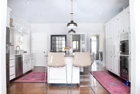 kitchen vintage style kitchen rugs and mid century bar stools on