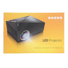 gm60 upgrade version gm60a built in diplay mini metal led projector