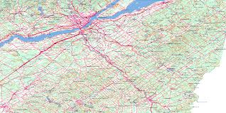 Map Of Quebec Quebec Topographic Maps Topographic Map