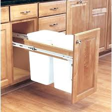 Kitchen Cabinet Trash Can Kitchen Cabinet Trash Can Full Image For Pull Out Trash Can