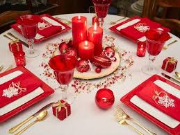 christmas table decorations christmas table decoration idea gallery lovetoknow