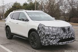 dark gray nissan 2017 nissan rogue spy shots