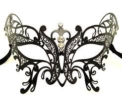 metal masquerade mask metal butterfly filigree masquerade mask with crystals