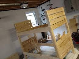 ana white sturdy bunk beds diy projects