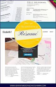 How To Make Resume For Teaching Job by Résumé Writing For Teachers Adventures Of A Schoolmarm