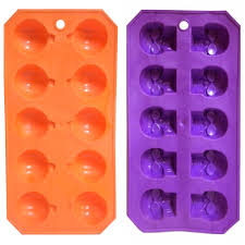 halloween soap molds amazon com skeleton skull u0026 pumpkin halloween plastic ice cube