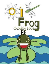 happies oi frog colouring book