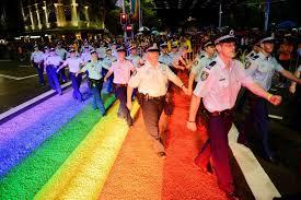 mardi gra march in mardi gras parade abc news australian