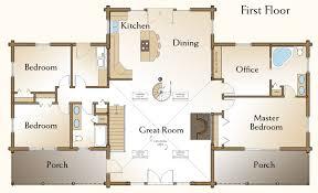 floor plans for log cabins majestic design log cabin mansion floor plans 4 house homes on