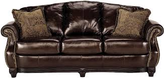 The Brick Leather Sofa Living Room Furniture Prestige 100 Genuine Leather Sofa Brown