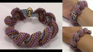 bracelet tutorials youtube images Handmade bracelet with flat cellini stitch jpg