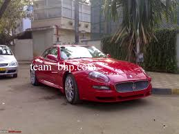 red maserati exclusive pics black maserati granturismo in mumbai edit a
