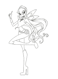 immagini winx da stampare coloring pages to printfree coloring