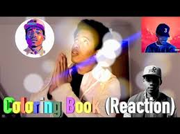 chance the rapper coloring book best reaction review youtube