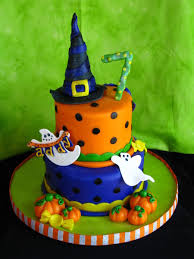 orange and blue combination birthday cakes images interesting halloween birthday cakes