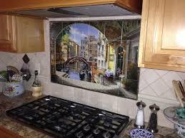 Kitchen Murals Backsplash by Decorative Tile Backsplash Kitchen Tile Ideas Archway To