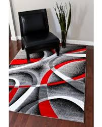 rugs red and grey rugs yylc co