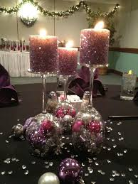 Wine Glass Decorating Ideas Christmas Candle Holder With Glass Cups Diy 20 Ideas