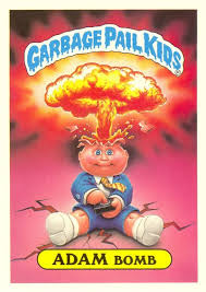 kid cards a garbage pail kids card for 4 250