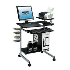 Compact Computer Desk Fingerhut Techni Mobili Compact Computer Desk