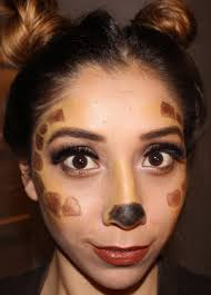 giraffe and bratz doll makeup tutorial easy halloween looks