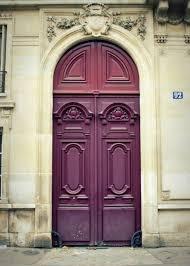 Photography Home Decor Paris Photography Pink Paris Door Photo Purple Door