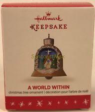 2016 hallmark keepsake a world within 2nd in series mini ornament