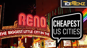 cheapest west coast cities top 10 cheapest big american cities youtube