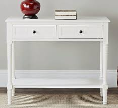 White Hallway Console Table Wood Console Table White Hallway Entryway Shelf Drawer Sofa Accent