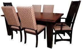 giant shaker leg dining room set amish furniture gallery