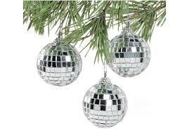 in motion disco mirror ornaments