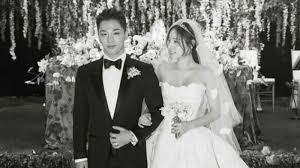 wedding dress taeyang taeyang sings nose for min hyo rin at wedding