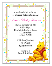 winnie the pooh baby shower invitations the pooh baby shower invitations on sayings by the loveable