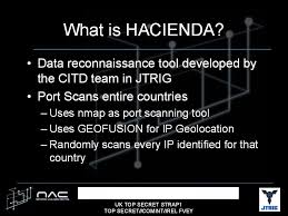 gchq u0027s hacienda port scanning program targeting devices in 27