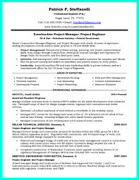 Federal Government Resume Example Simple Construction Superintendent Resume Example To Get Applied