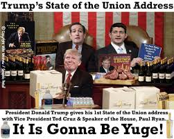 State Of The Union Meme - president donald trump s state of the union address hillary